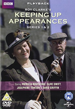 British TV Comedy: Keeping Up Appearances Series 1 & 2